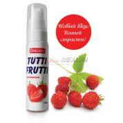 Съедобный гель tutti-frutti земляника 30г