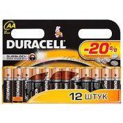 Элемент питания Duracell LR6-12bl basic (пальчиковая)