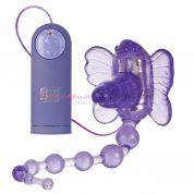 Бабочка с анальным стимулятором
