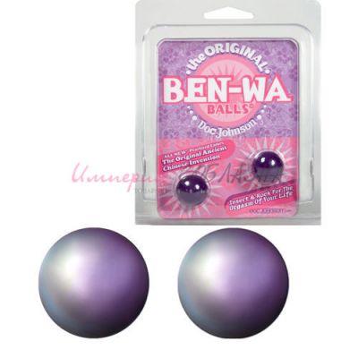 Вагинальные шарики ben-wa purple