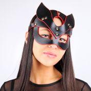 Сексуальная маска Кошки комбинированного черный/красный цвета